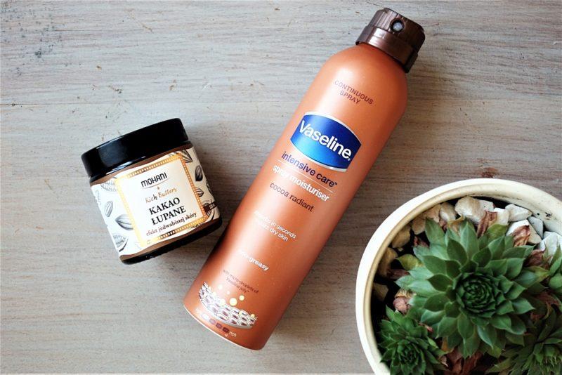 Od Sasa do Lasa, czyli nierafinowane masło kakaowe i balsam w spray'u